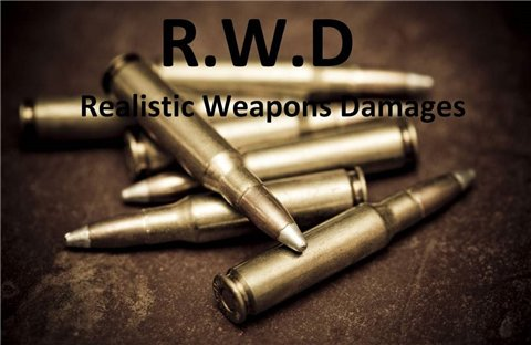 RWD - Realistic Weapons Damages - на русском для Fallout 3