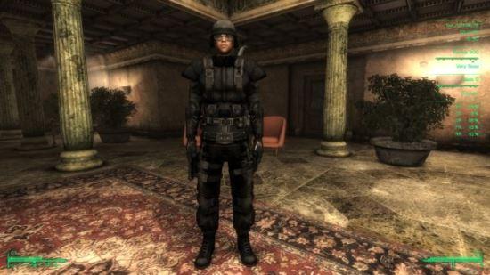 Броня спецназа ГРУ СССР - на русском для Fallout 3