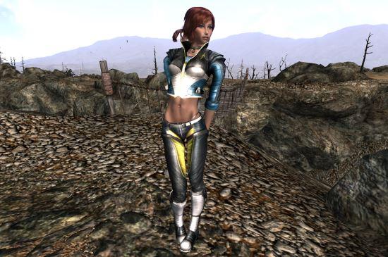 Костюм Элексис для Fallout 3