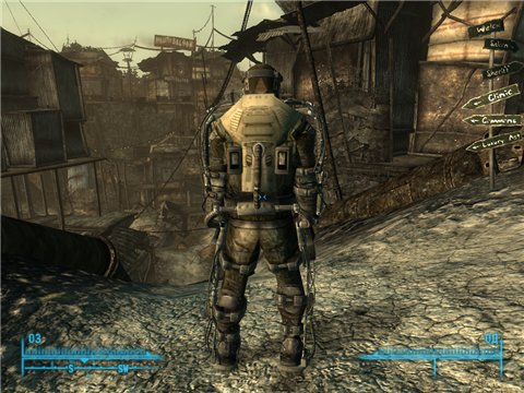 S.T.A.L.K.E.R armor mod для Fallout 3