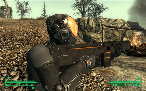 HK PSG1 Sniper Rifle - на русском для Fallout 3