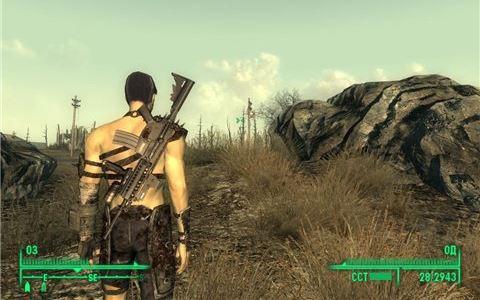 Barett m468 - на русском для Fallout 3