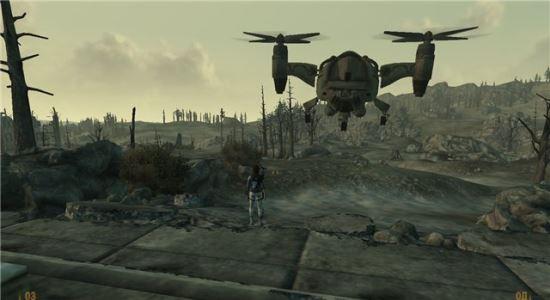 Собственный Вертиберд для Fallout 3
