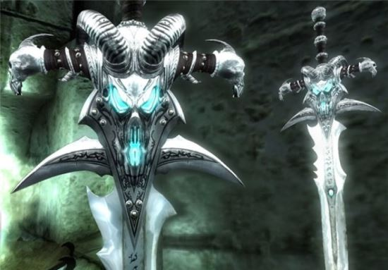 Frostmourne для The Elder Scrolls IV: Oblivion