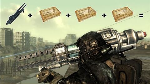 Weapon Mod kits - расширение модификации оружия (обновлено до 1.1.9) для Fallout 3
