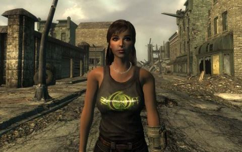 Пак футболок - на русском для Fallout 3
