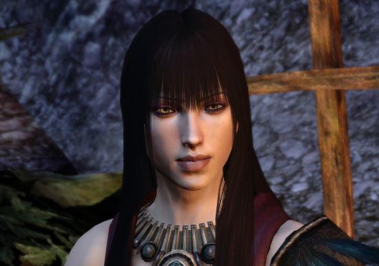 Новые прически для Морриган v 1.0 для Dragon Age: Origins
