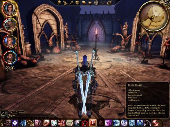 Улучшенные заклинания и навыки для Dragon Age: Origins