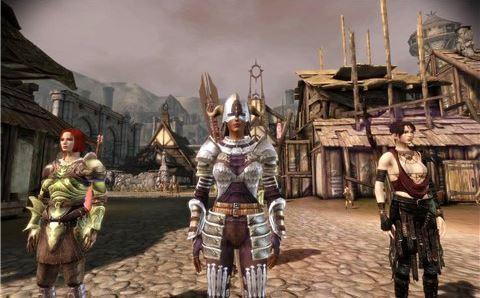 Торговка в Денериме с новой броней для Dragon Age: Origins