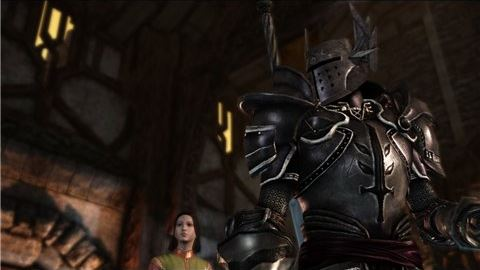 Броня темного храмовника / Black Templars Armor v 1.2 для Dragon Age: Origins