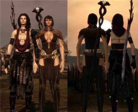 Темное Снаряжение / Dusk Package для Dragon Age: Origins