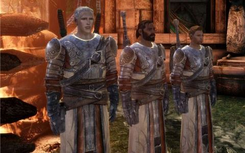 Первоначальная Броня Дункана для Dragon Age: Origins