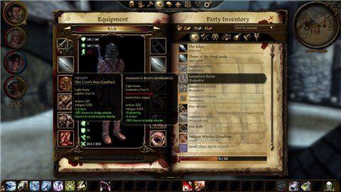 Assassins Set / Набор убийцы для Dragon Age: Origins