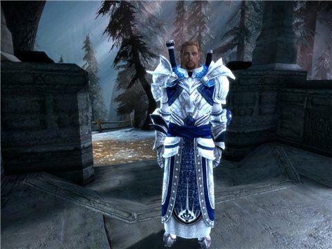 Башня слоновой кости и сумрачное цветение (Одежда для мага) для Dragon Age: Origins