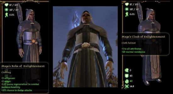 Mage Gear / Вещи для мага для Dragon Age: Origins