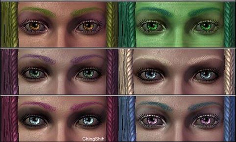 CS - Eyebrows Color / Окрас бровей для Dragon Age: Origins