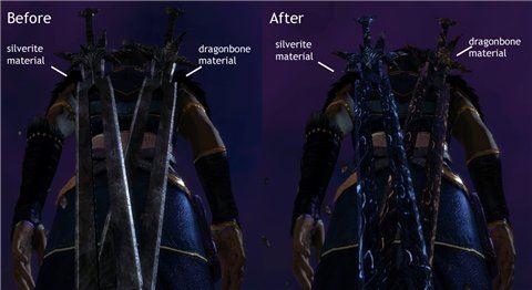 New darkspawn sword / Великий Меч Темного Порождения для Dragon Age: Origins