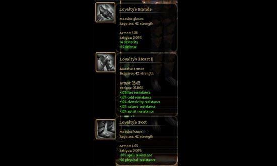 King Maker / Кинг Мейкер - набор брони и оружия для Dragon Age: Origins