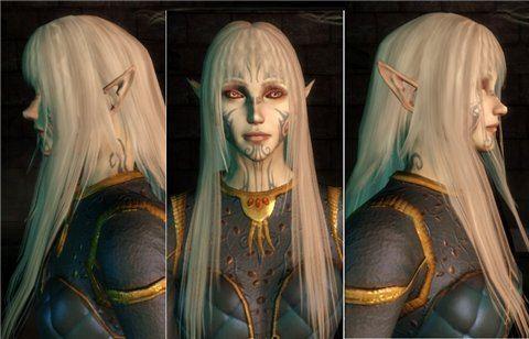 Winter Elves / Зимние Эльфы для Dragon Age: Origins