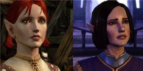 Pretty Faces Male and Female Preset Heads / Красивые лица для Dragon Age: Origins