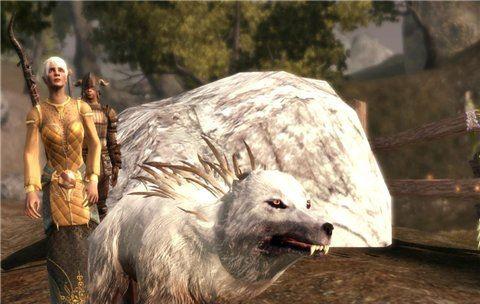 Замена Собаки и Мабари на Кровавого Волка для Dragon Age: Origins