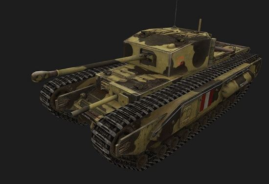 Churchill I #11 для игры World Of Tanks