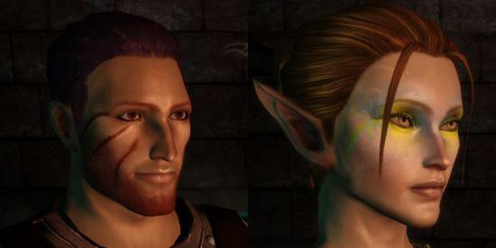 Изменение внешности / Chargen Package для Dragon Age: Origins