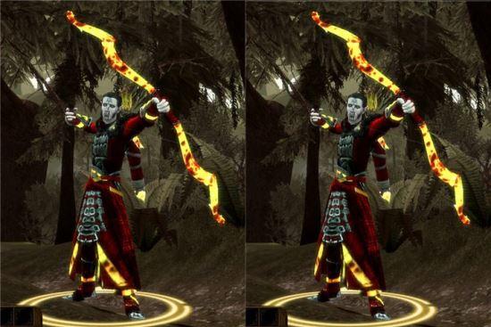 Лук и Легкий Набор Брони для Dragon Age: Origins