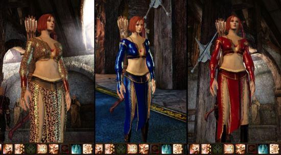 Текстура и модель Королевы Аноры для Dragon Age: Origins