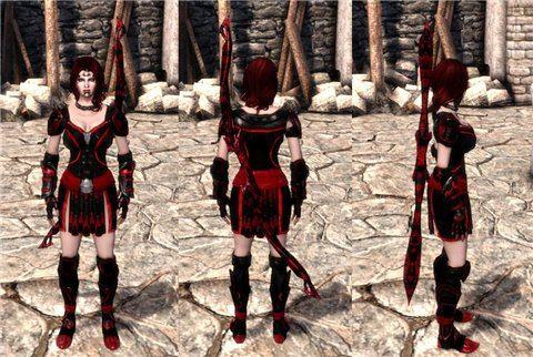 Набор брони и оружия / Standalone Gear для Dragon Age: Origins