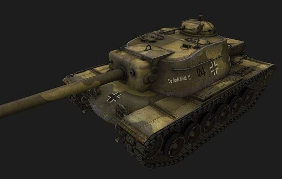 T110E4 #17 для игры World Of Tanks
