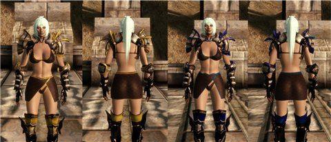 Броня для женщин людей / Team TnT Armors для Dragon Age: Origins