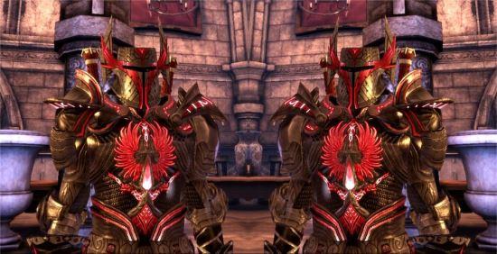 Кровавая Броня Ангела / Blood Angel Armor для Dragon Age: Origins