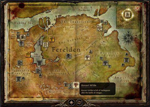 Возвращение в земли Коркари / Return To Korcari Wilds для Dragon Age: Origins