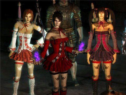 Одеяния Эми / AMY Outfit для Dragon Age: Origins