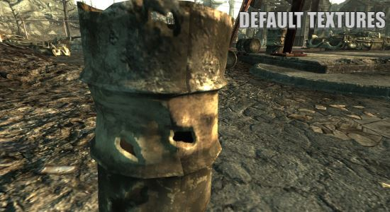 NMCs Texture Pack v 1.0 для Fallout 3