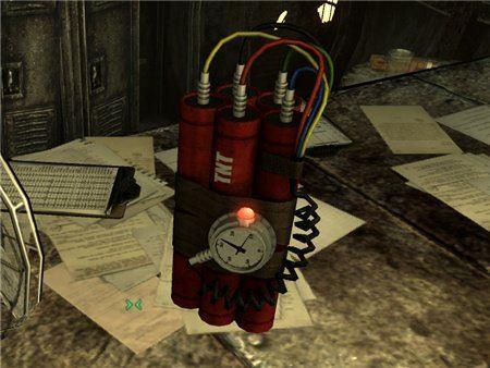 Бомба с таймером для Fallout 3