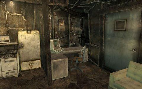 Переносной дом для Fallout 3