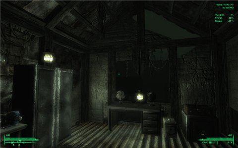 Portable Lamp / Переносная Лампа для Fallout 3