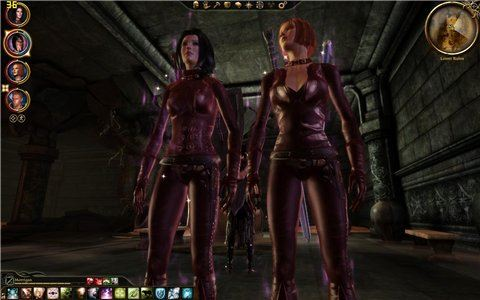 Набор экипировки для девушки - разбойника для Dragon Age: Origins