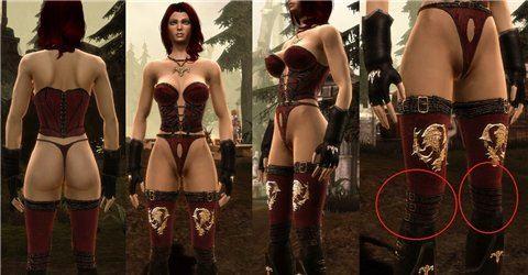 Blade Dancer / Танец лезвия - роба для Dragon Age: Origins