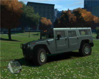 Hummer h1 alpha для Grand Theft Auto IV