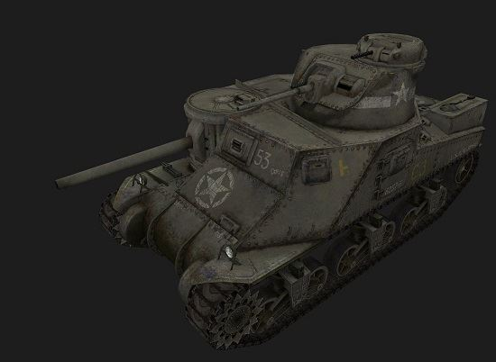 M3 Lee (M3 Grant) #22 для игры World Of Tanks