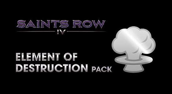 Трейнер для Saints Row IV: Element of Destruction Pack v 1.0 (+12)