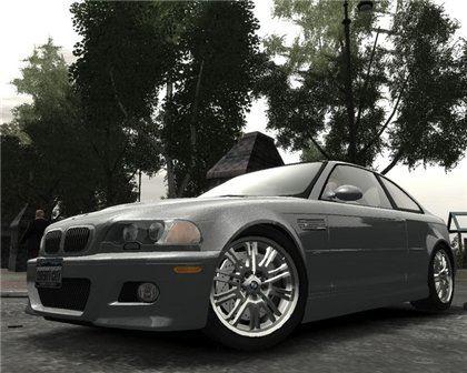 BMW M3 E46 2001 для Grand Theft Auto IV