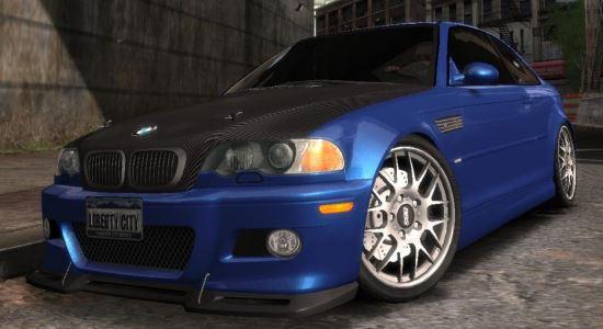 BMW M3 E46 для Grand Theft Auto IV