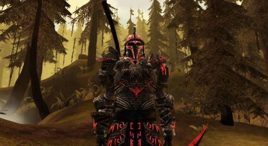 Рунный Доспех Андариэля (Обновлено) для Dragon Age: Origins