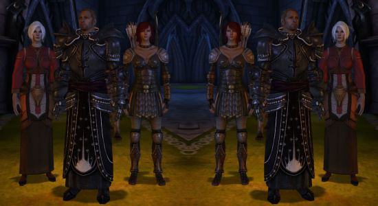 Доспех Падшего Тамплиера для Dragon Age: Origins