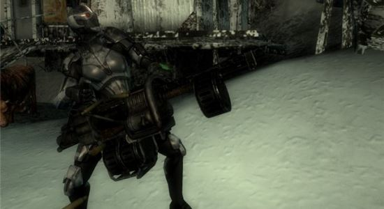 Дебильное оружие с Пустошей / Debility Westland Weapon для Fallout 3