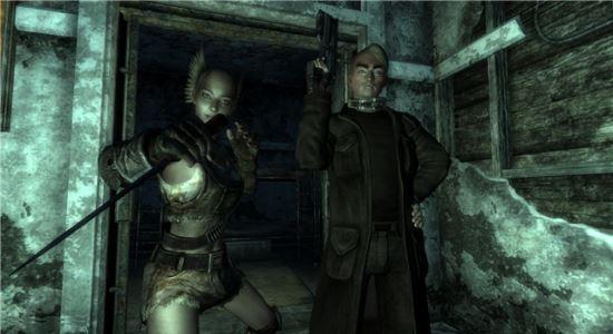 Напарник Бандит для Fallout 3